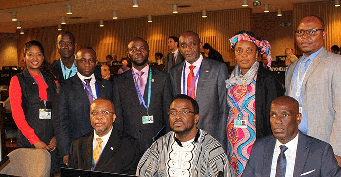 Liberia's Education Minister addresses UNESCO 38th General Assembly