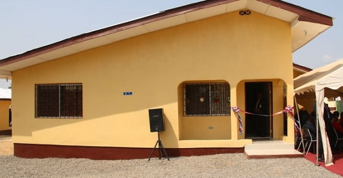 Pres. Sirleaf Dedicates 70 Housing Units in Brewerville