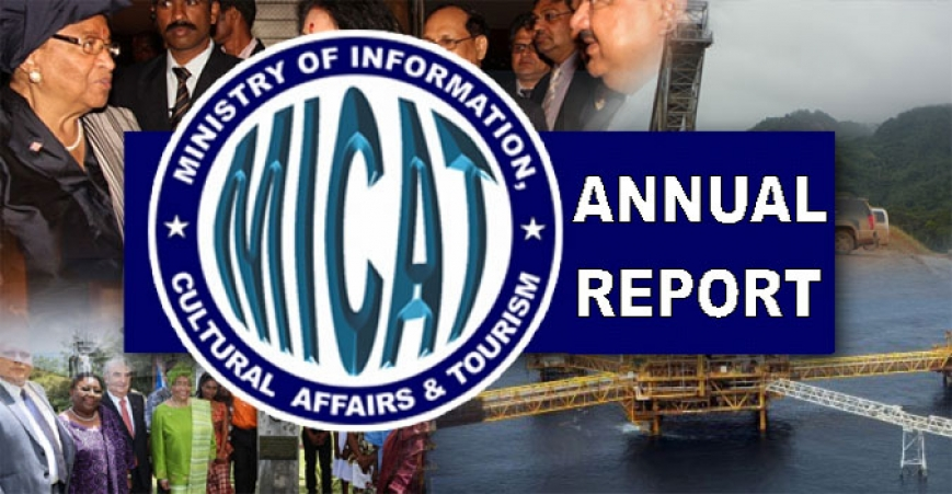 Ministry of Information, Cultural Affairs and Tourism (MICAT) 2015 Annual Report