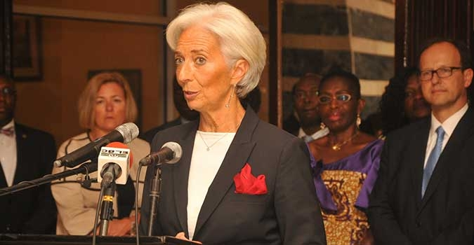 IMF boss Christine Largarde