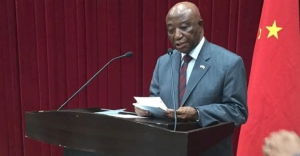 VP Boakai delivers statement at programs marking the 67th anniversary of the founding of the People's Republic of China