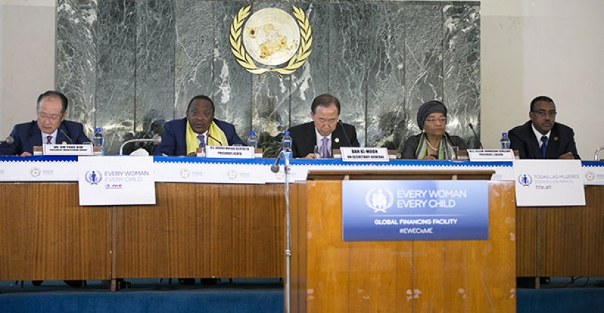 High Level Table at the Global Financing Facility Conference