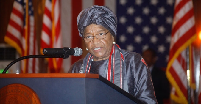 President Sirleaf Lauds U.S. For Its Assistance in Containing the Ebola Outbreak; Ambassador Malac Urges Liberians to Find That Collective Spirit to Build a Better Country