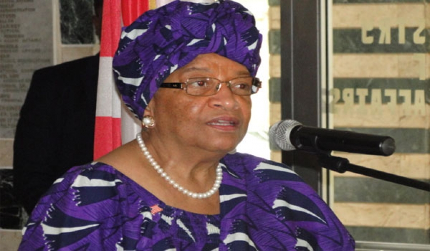 Pres. Sirleaf Sets Up Task Force On Economy