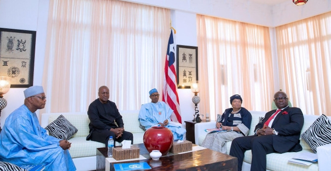 ECOWAS Closely Monitoring The Gambia – Pres. Sirleaf