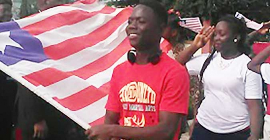 Liberians celebrate Flag Day in Abuja, Nigeria